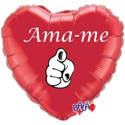 Balão Foil Coração de 18'' Ama-me