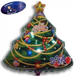 Balão Árvore de Natal de 66cm