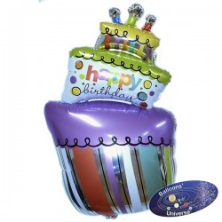 Balão Bolo de Aniversário