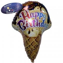 Balão Foil Gelado de aniversário