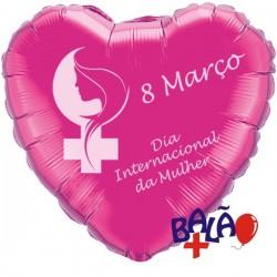 Balão dia da mulher 8 de Março