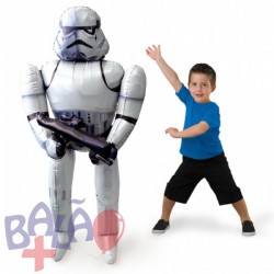 Balão Foil AirWalker Star Wars Storm Trooper