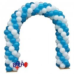 Arco em balões