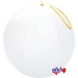 41cm White Punch-Ball Balloon