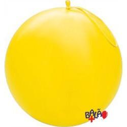 41cm Yellow Punch-Ball Balloon
