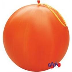41cm Orange Punch-Ball Balloon