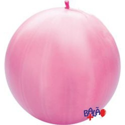 Punch-Ball De 41cm Rosa