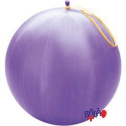 41cm Purple Puch-Ball Balloon