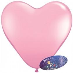 Heart balloon 13cm Pink