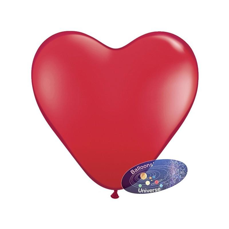 Heart balloon 13cm Red