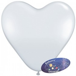 30cm Transparent Heart Balloon