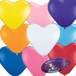30cm Assortment Heart Balloon