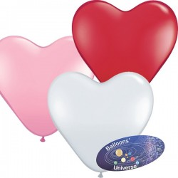 43cm Passion Assortment Heart Balloon