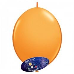 Balão LINK de 15cm Laranja