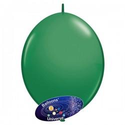 Balão LINK de 15cm Verde Folha