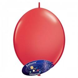 Balão LINK de 15cm Vermelho