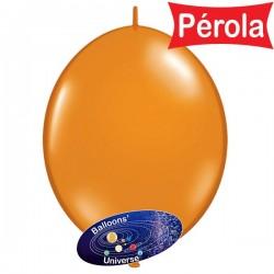 Balão LINK de 15cm Laranja...