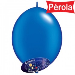 Balão LINK de 15cm Azul Pérola