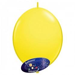 Balão link de 35cm Amarelo