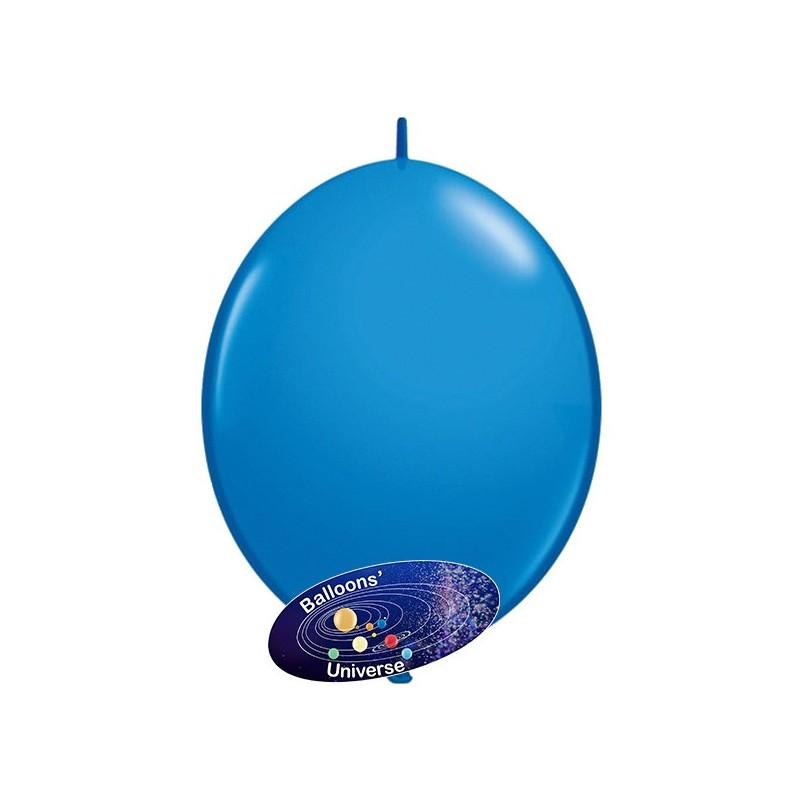 Balão link de 35cm Azul