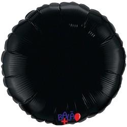 Balão Redondo de 23cm Preto