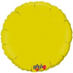 Balão Redondo de 90cm Amarelo
