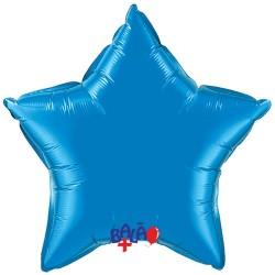 Balão Estrela de 90cm Azul