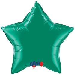 Balão Estrela de 90cm Verde