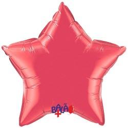 Balão Estrela de 90cm Vermelho