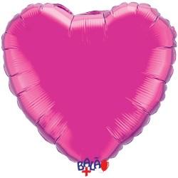 Balão Coração de 90cm Rosa...
