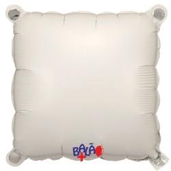 Balão Quadrado de 30cm Branco