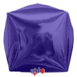 Balão Cubo de 40cm Azul