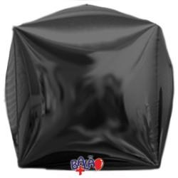 Balão Cubo de 40cm Preto