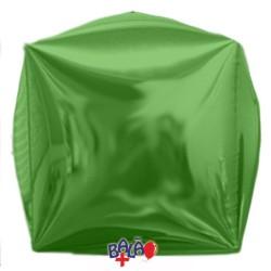 Balão Cubo de 40cm Verde