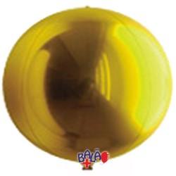 Balão Espelho de 40cm Dourado