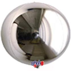 Balão Espelho de 40cm Prateado