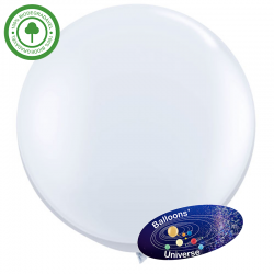 75 cm White Giant Balloon