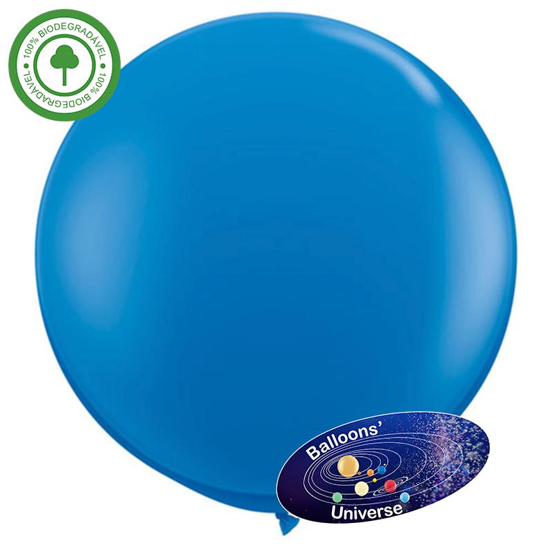 90cm Blue Giant Balloon