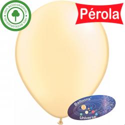 13cm Pearl Ivory Balloon