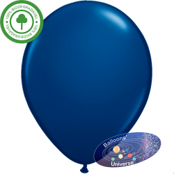 13cm Dark Blue Balloon