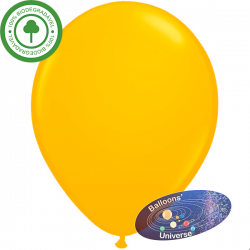 26cm Dark Yellow Balloon
