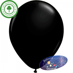 36cm Black Balloon