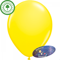 36cm Yellow Balloon