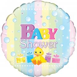 18'' Baby Shower Round Foil Balloon