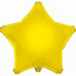 Balão Estrela de 48cm Amarelo