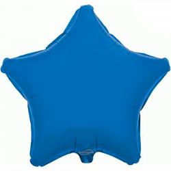 Balão Estrela de 48cm Azul