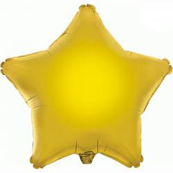 Balão Estrela de 48cm Dourada