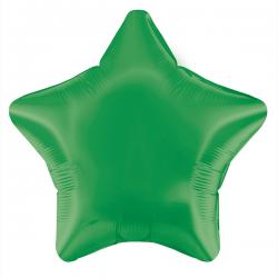 Balão Estrela de 48cm Verde