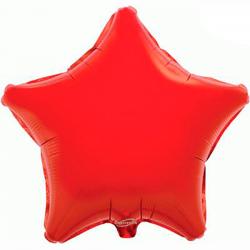 48cm Star Red Foil Balloon