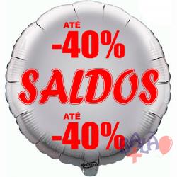 45cm Saldos -40% Silver Balloon